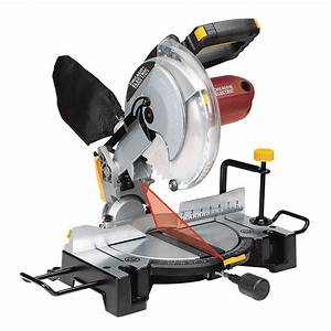 10 In  Compound Miter Saw With Laser Guide System