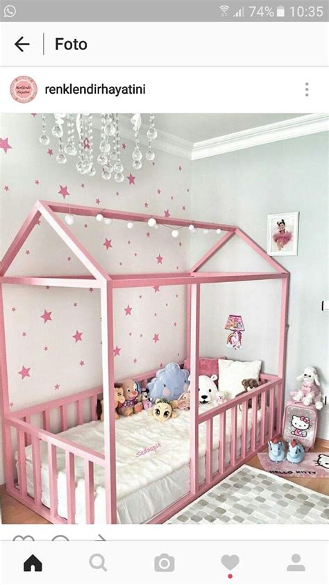 Kinderzimmer Mädchen Rosa Gold by Kinderbett Sterne Rosa Ger 252 St надо купить в 2019 г
