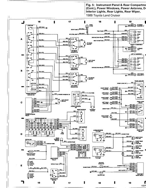 1988 toyota land cruiser wiring diagram