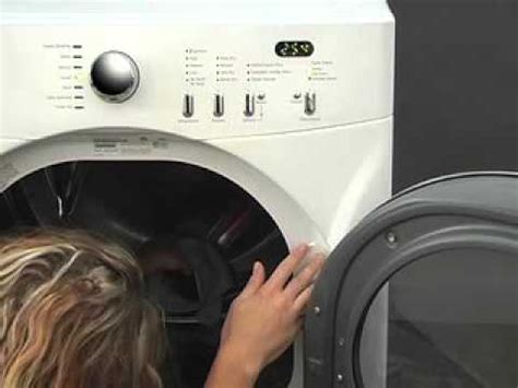 frigidaire affinity dryer serial run 4d service diagnostics mode
