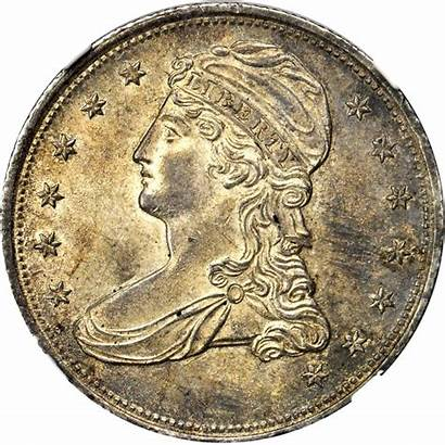Half Bust Dollar Value Capped 1839 Reeded