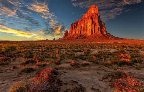 Nature Landscape Desert Mountain Sandstone Wallpapers