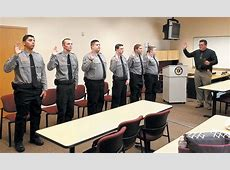 MCSO Graduates 6 as Detention Officers Kingman Daily
