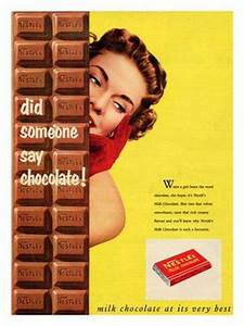 vintage chocolate ads and poster design | BP026 - Nestle ...