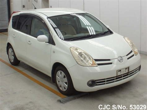 nissan note 2005 white 2005 nissan note white pearl for sale stock no 53029
