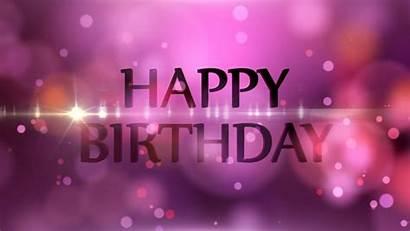 Birthday Happy Background Graphics Anniversary Motion Bokeh
