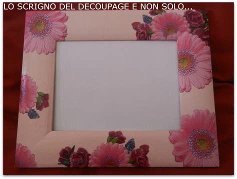 Cornici Legno Decoupage by Decoupage Su Cornice