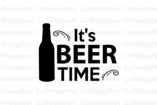 Get crafting with your cricut or any other cutting machines for crafty projects. It's Beer Time SVG (Graphic) by cutfilesgallery · Creative ...