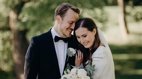 finnlands regierungschefin sanna marin hat geheiratet
