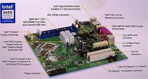 Intel Boxd945gczlr Motherboard Mbtx Lga