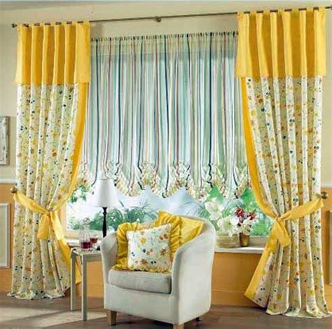 decoration ideas charming yellow grommet curtain with