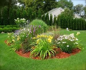 Refaire Son Jardin Gratuitement : jardin d 39 ornement parterre de fleurs jaunes marguerites ~ Premium-room.com Idées de Décoration