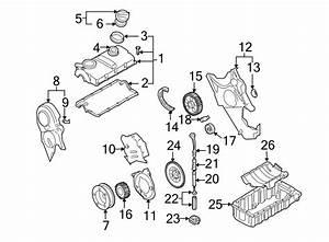 2004 Volkswagen Golf Engine Timing Belt Tensioner