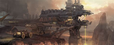 Mining Factory By Molybdenumgp03 On Deviantart