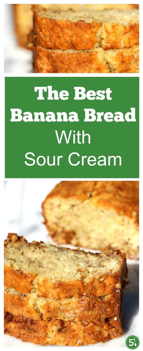banana bread  sour cream  silver spoons