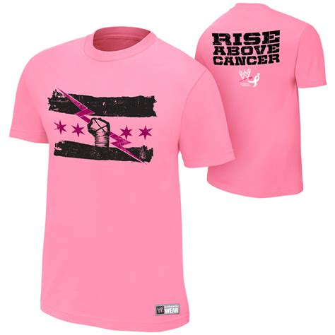 tna authentic tshirt creatures cm rise above cancer pink official t shirt all