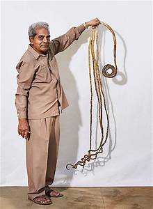 Check out the longest fingernails ever in Shridhar Chillal ...