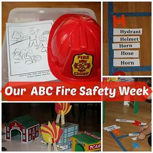 Fire Safety Play Activities and Fire Safety Learning Games ...