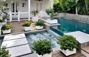 Garten Pool Rechteckig : gartenpools eine erfrischende brise f r den sommer ~ Orissabook.com Haus und Dekorationen