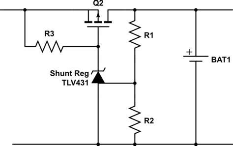 Undervoltage Voltage Cutoff Circuit For Battery Based