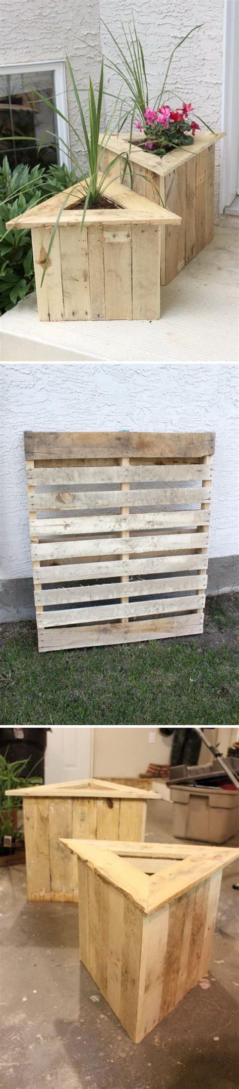 Ideas Using Pallets 15 diy garden planter ideas using wood pallets hative