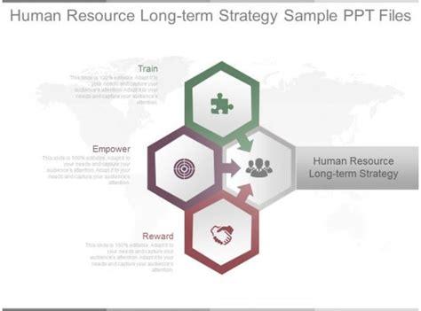 human resource long term strategy sample  files