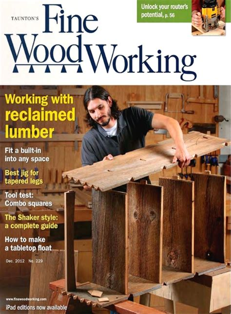 fine woodworking magazine index  woodworking