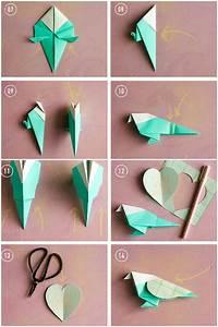 Bricolage Facile En Papier : bricolage origami poisson naturel ~ Mglfilm.com Idées de Décoration