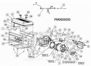 Powermate Formerly Coleman Pm0605000 Parts Diagram For