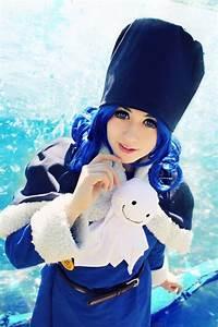 Cute Fairy Tail Juvia Loxar Cosplay | via Facebook