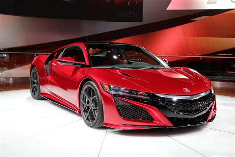 naias 2015 highlights honda nsx acura nsx