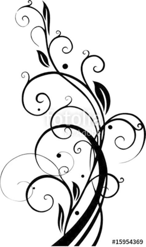 Muster Blumenranke Einfach by Quot Ranke Bl 228 Tter Umrandung Filigran Floral Quot Stockfotos