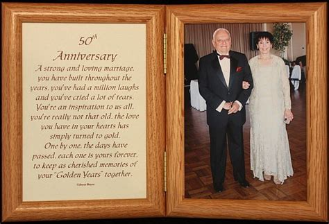 Popular Golden Anniversary Gift Ideas For Couples In Usa