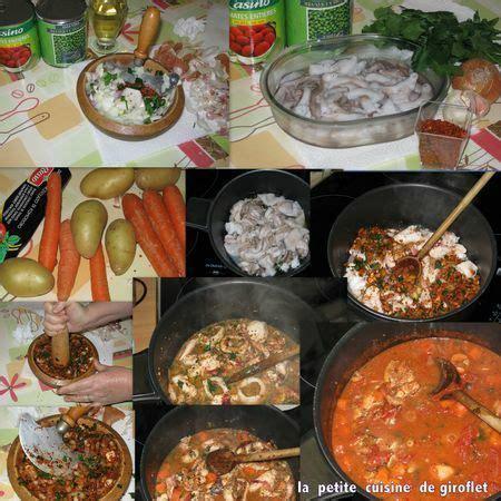 cuisiner les poulpes ragoût de petits poulpes la cuisine de giroflet