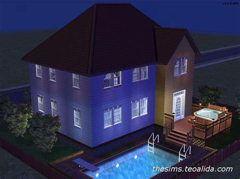 asymmetrical house iii  sims fan page