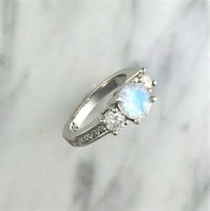 moonstone engagement rings 25 best ideas about moonstone engagement rings on floral engagement ring