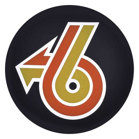 Buick Grand National Logo by Oer 174 K151770 Black Wheel Hub Cap Emblem With Orange