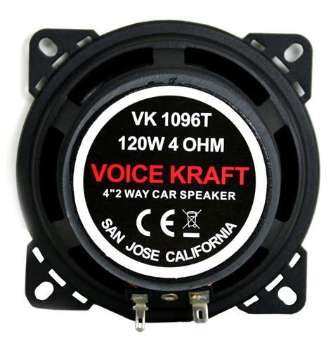 Skaļruņu komplekts VK-1096 Titanium - Skaļruņu komplekti - Veikals - Voice Kraft