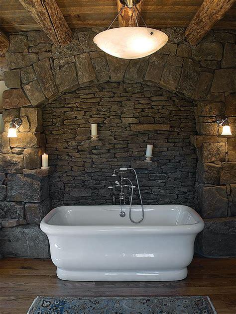 rustic bathtub bathtub design ideas hgtv