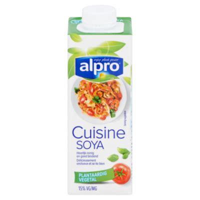 soya cuisine alpro soya cuisine light lactosevrij product en prijs
