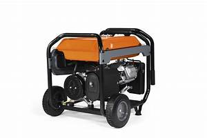 Generac Power Systems - 6500 Watt Gp Series Portable Generator With Electric Start