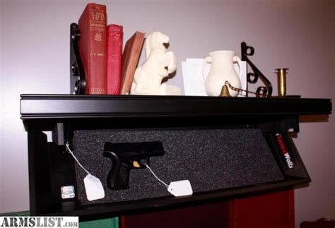 tactical walls shelf armslist for tactical walls handgun wall shelf