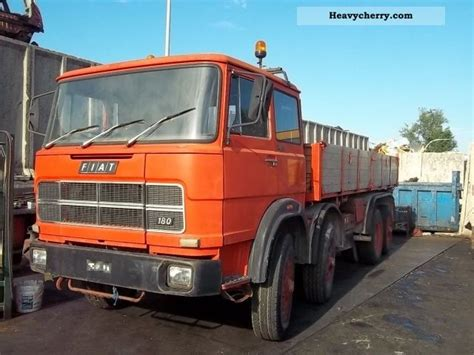Iveco Fiat by Iveco Fiat 691 1974 Three Sided Tipper Truck Photo And Specs