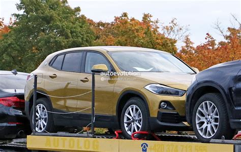 Hardly Camouflaged 2018 Bmw X2 Has Four Blue-and
