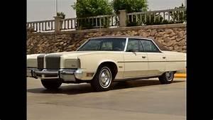 Chrysler New Yorker 1976 V8 6 6l