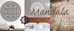 Wall painting stencils wall stencils furniture stencil for Interior wall painting ideas stenciling