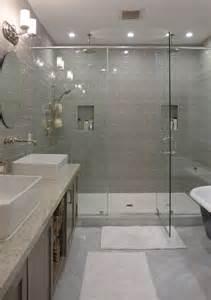 gray tile bathroom ideas contemporary master bathroom with shower daltile rittenhouse square matte desert gray 3 in