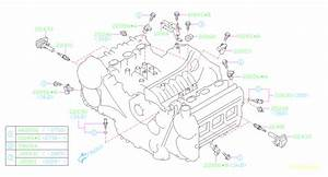 2006 Subaru Tribeca Engine Crankshaft Position Sensor