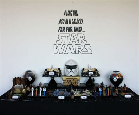 Un star wars anniversaire organiser tu dois ! A Star Wars Inspired Party - Anders Ruff Custom Designs, LLC