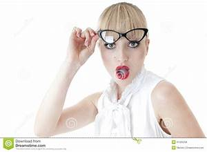 Business Woman Surprised Face Expression. Royalty Free ...